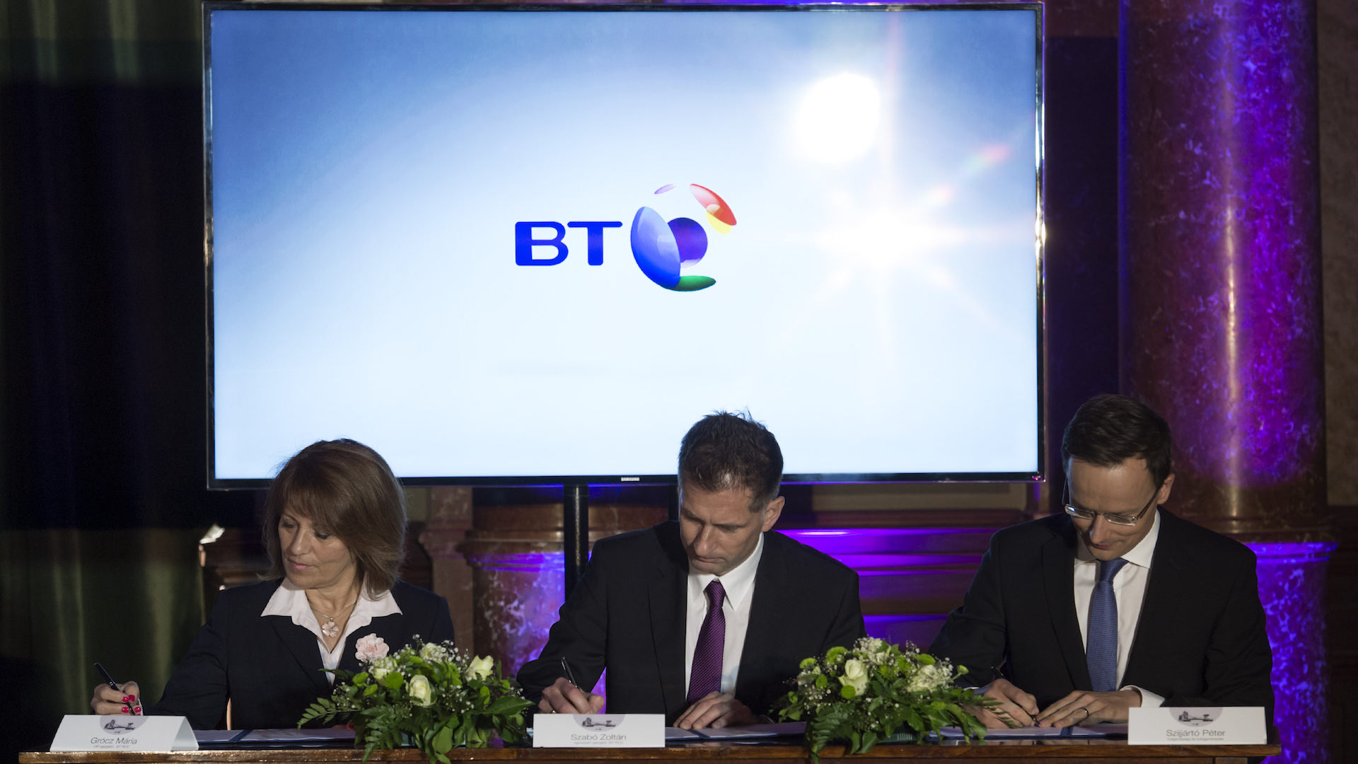 BT is the most recent strategic partner of the Hungarian Government