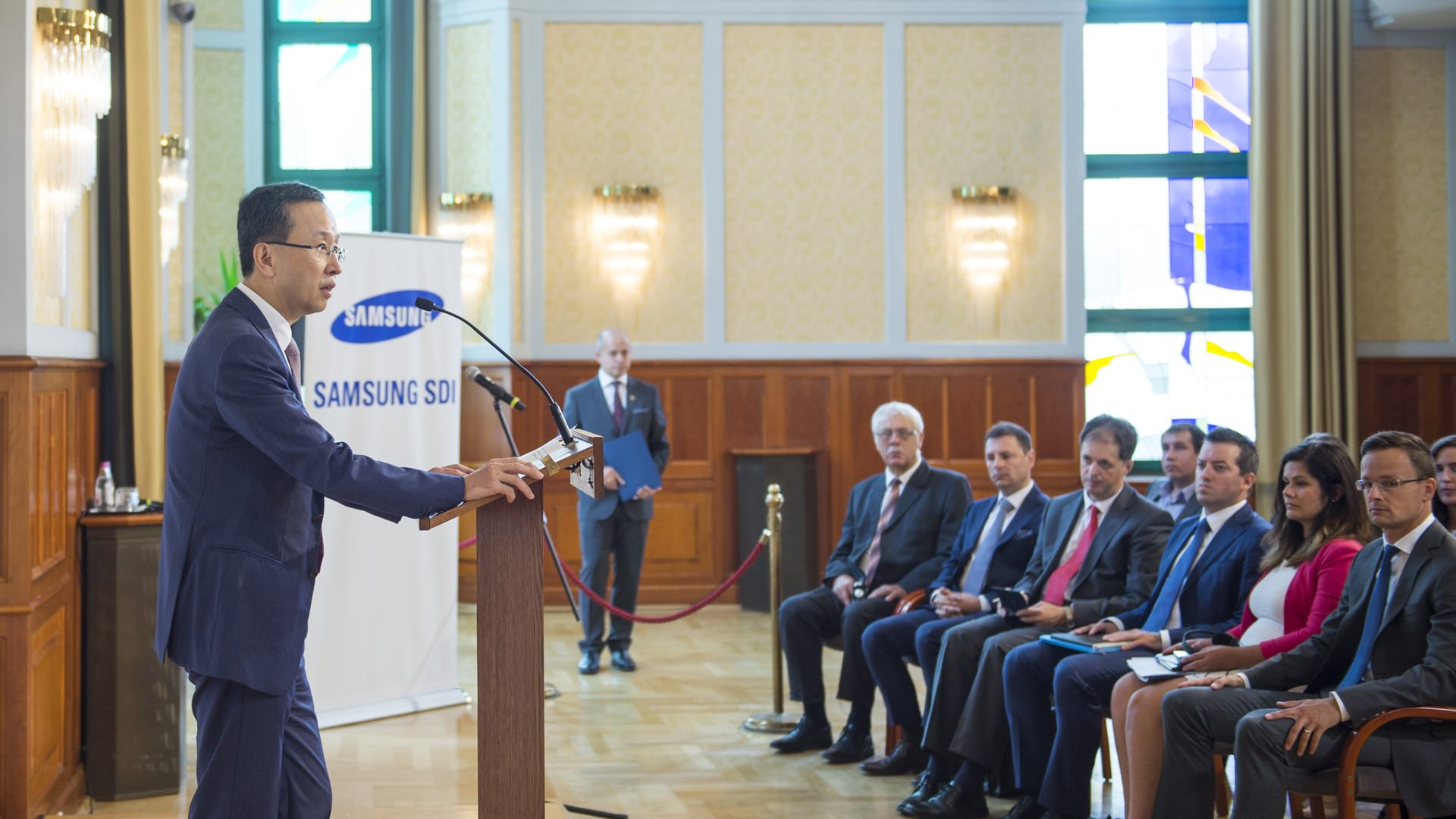 Construction of Samsung SDI battery factory in Göd launched