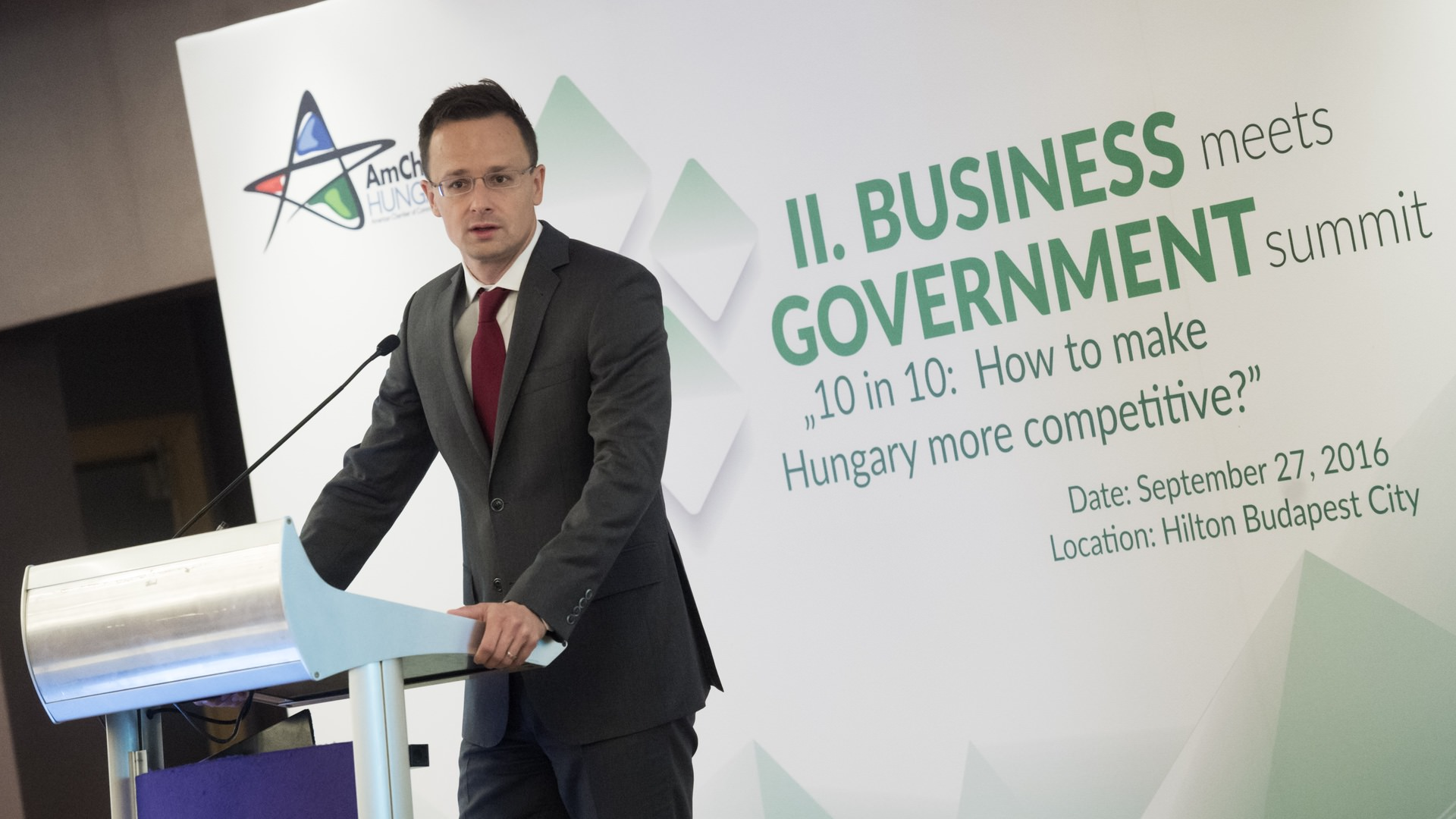 A More Competitive Hungary – the Common Goal of the Government and Companies
