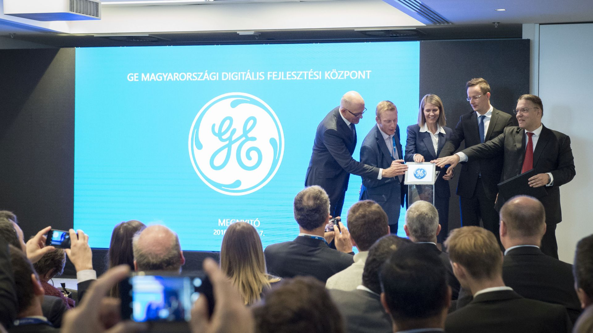 GE opens Global Digital Hub in Budapest