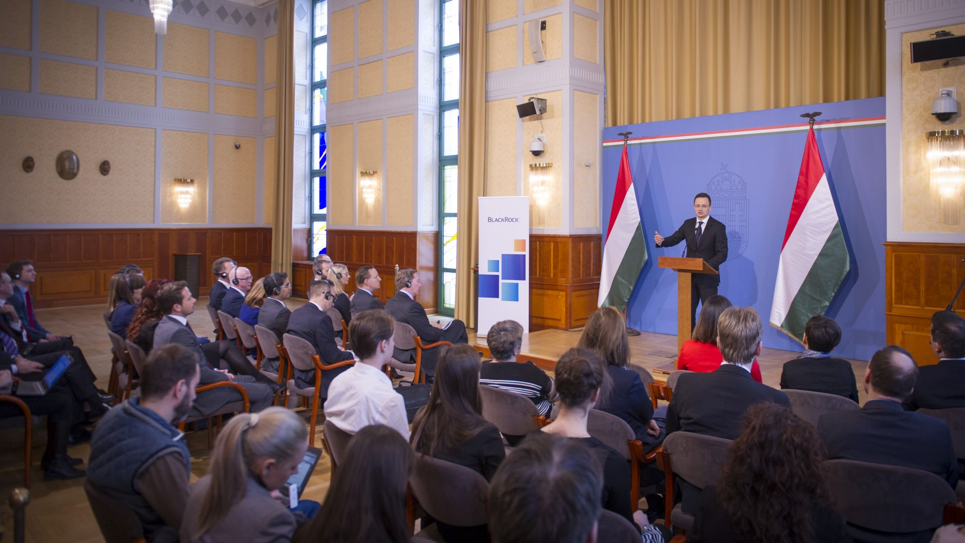 World's largest asset manager establishes its innovation and technology centre in Budapest