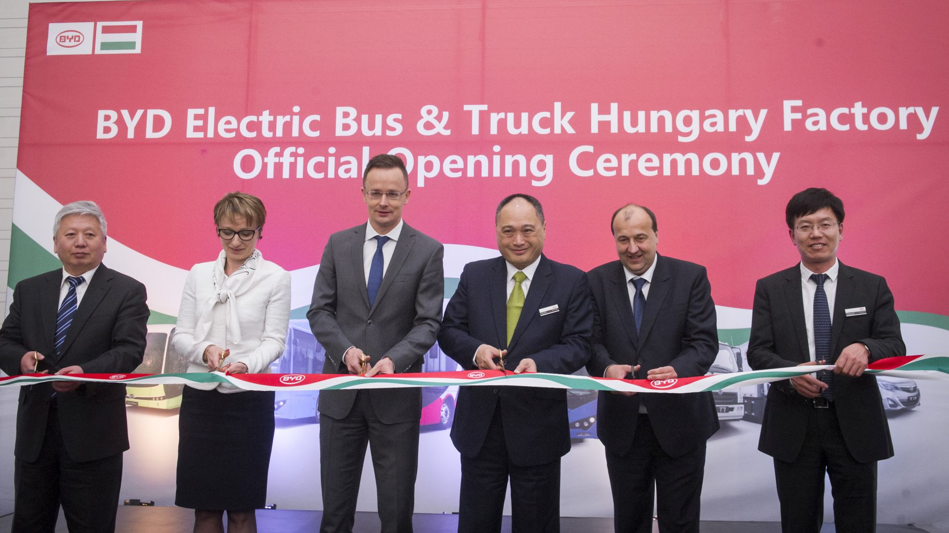 The new plant is now ready to provide BYD's European custumers
