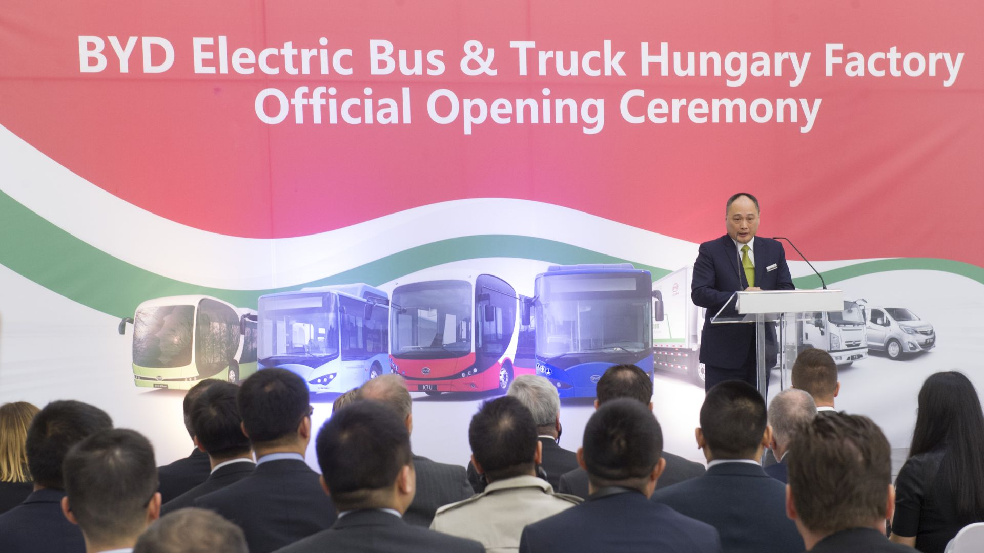 Isbrand Ho, BYD Europe's Managing Director