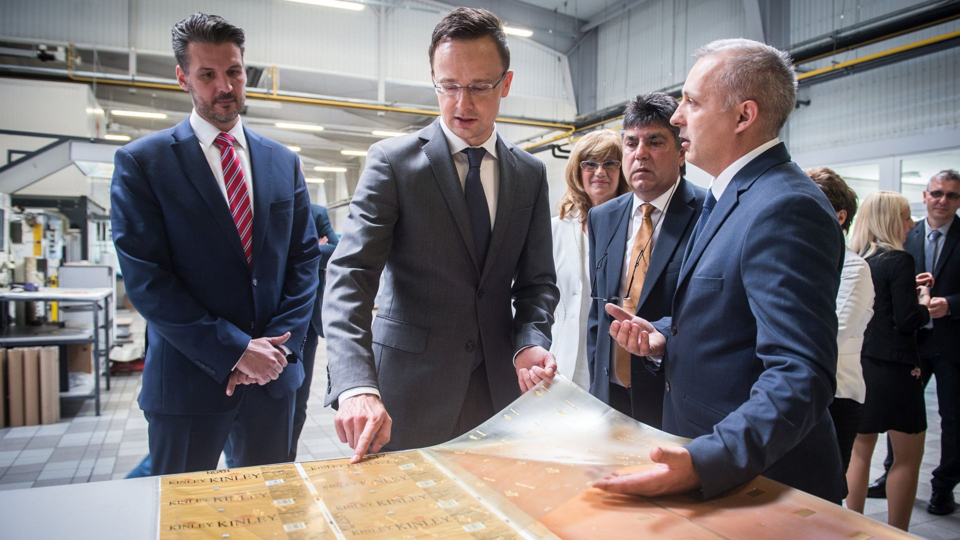 Hungary's leading plastic film manufacturing base is developed in Soltvadkert